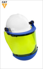 Arc Resistant 12cal Face Shield c/w Hard Hat